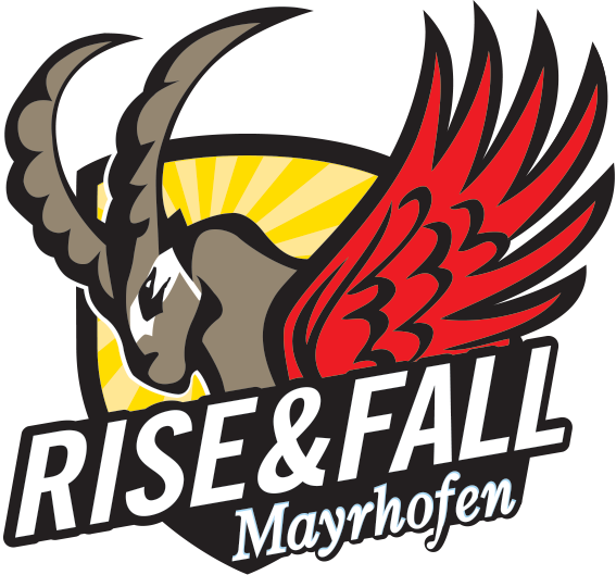 Rise and Fall Logo